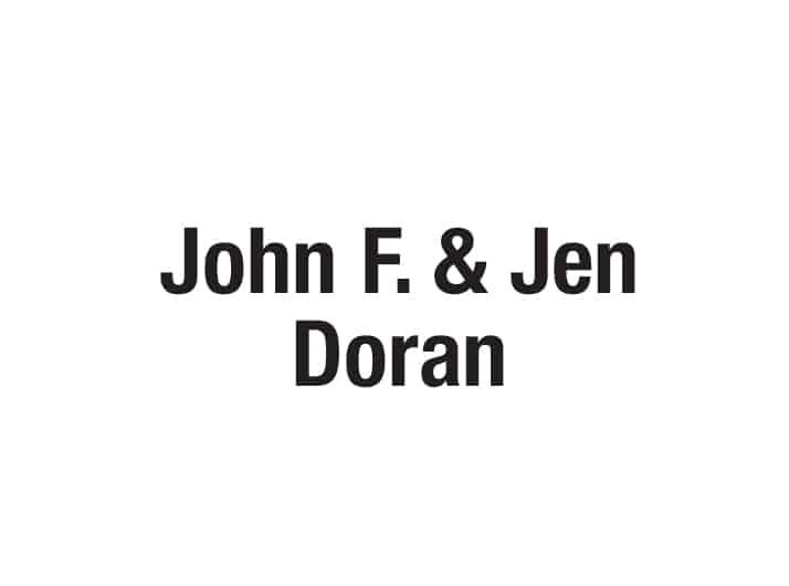 John F. and Jen Doran