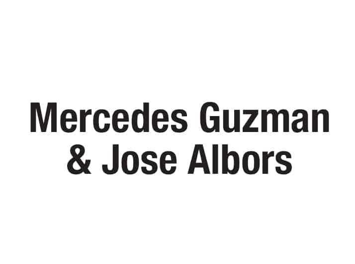 Mercedes Guzman and Jose Albors