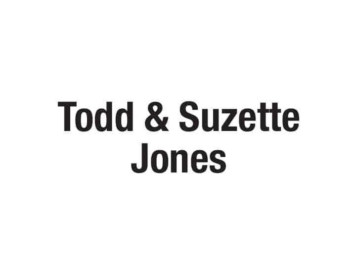 Todd and Suzette Jones