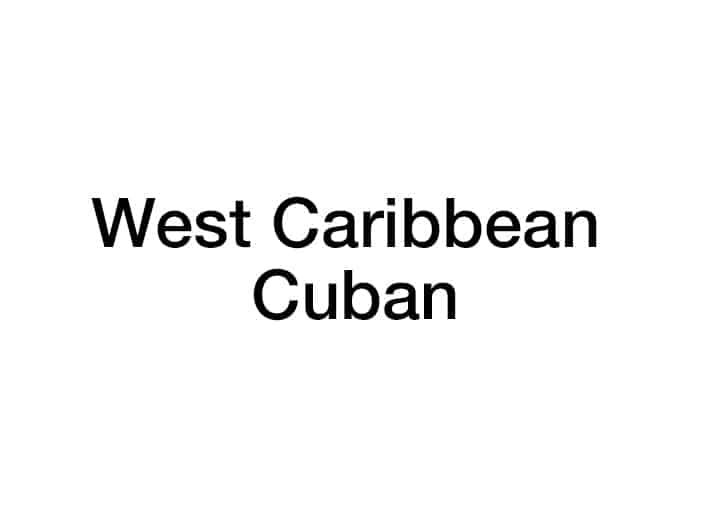 West Caribbean