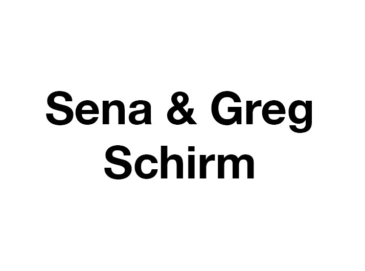 Sena and Greg Schirm